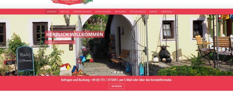 Referenz Web-Design: Vogelhaus Sommerhausen Webseite