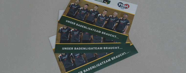 Referenz Print-Design: Faltblatt für den Förderverein des SVN