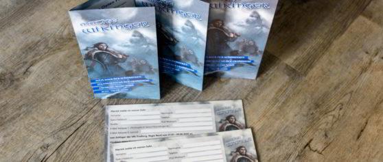 Referenz Print-Design: Folder & Antwort-Postkarte – SMJ Zeltlager 2020