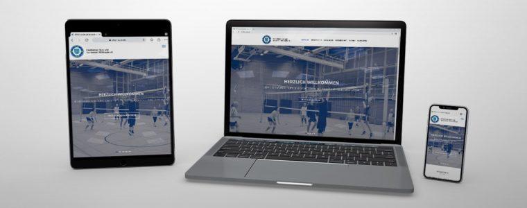 Referenz Web-Design: Relaunch der Webseite des ETSV Lauda