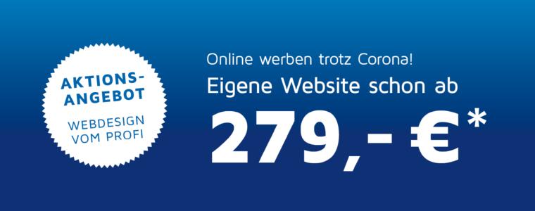 Eigene Website schon ab 279,- €*